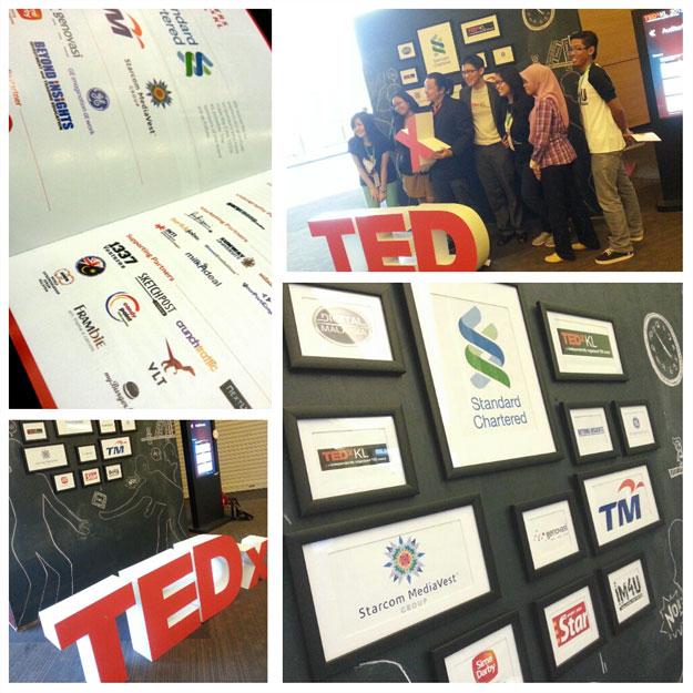 TEDxKL Photo Wall